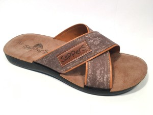 81151Mbeige@Ciabatte Incrociato Uomo@SliPPerS Mania 40-45@ 12 P.Box € 3,95