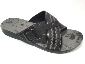 81172Mnero@Ciabatte Incrociato Uomo@SliPPerS Mania 40-45@ 12 P.Box € 4,90