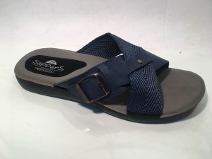 81727MBlu@Ciabatte Incrociato Uomo@SliPPerS Mania 40-45@ 12 P.Box € 3,95