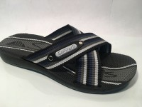 81732MNero@Ciabatte Incrociato Uomo@SliPPerS Mania 40-45@ 12 P.Box € 3,95