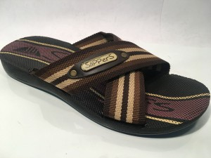 81732MTmoro@Ciabatte Incrociato Uomo@SliPPerS Mania 40-45@ 12 P.Box € 3,95